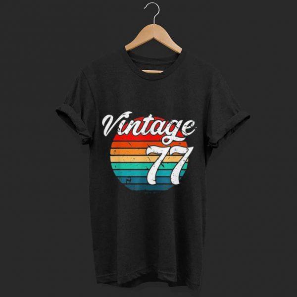 1977 Retro Vintage shirt