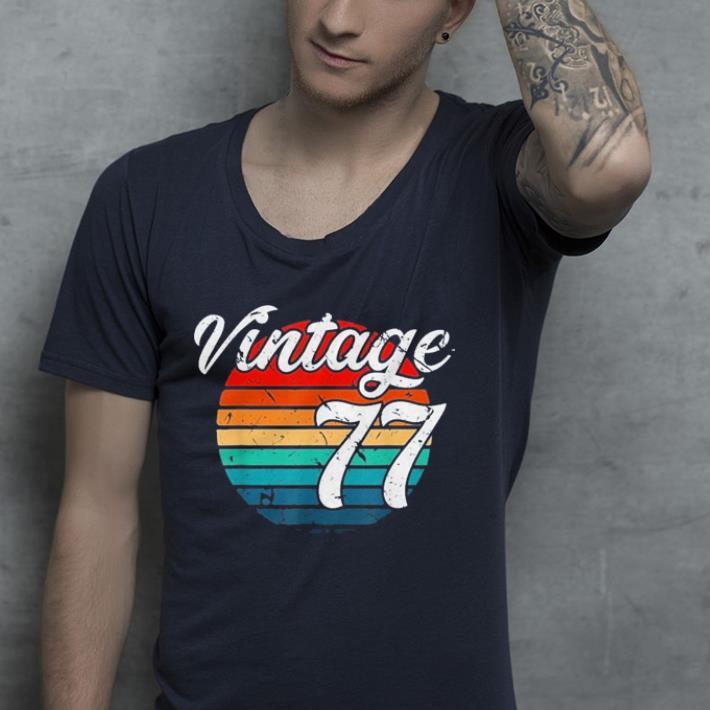 1977 Retro Vintage shirt 4 - 1977 Retro Vintage shirt