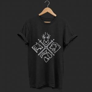 4 House Symbols shirt