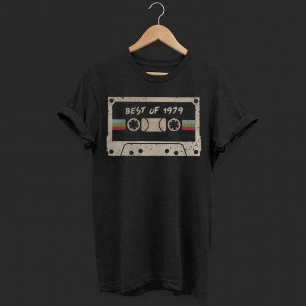70's mix tape cassette best of 1979 shirt