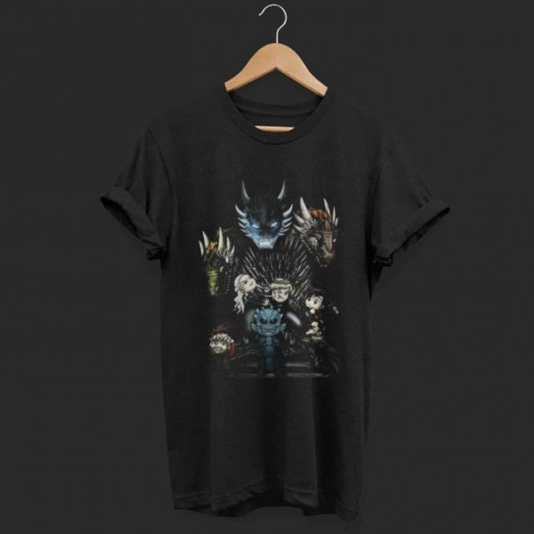 A game of thrones GOT chibi shirt
