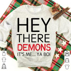 Buzz Feed Unsolved Hey There Demons Boi Raglan Baseball shirt