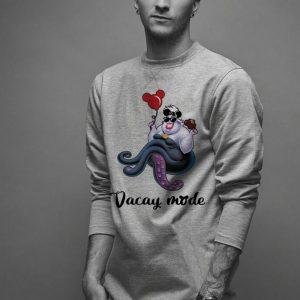 Cruella de Vil vacay mode balloon Mickey mouse shirt