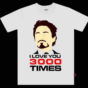 Dad I Love You 3000 Tony Stark End Game shirt