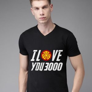 Daddy I Love You 3000 Arc Reactor Iron man shirt
