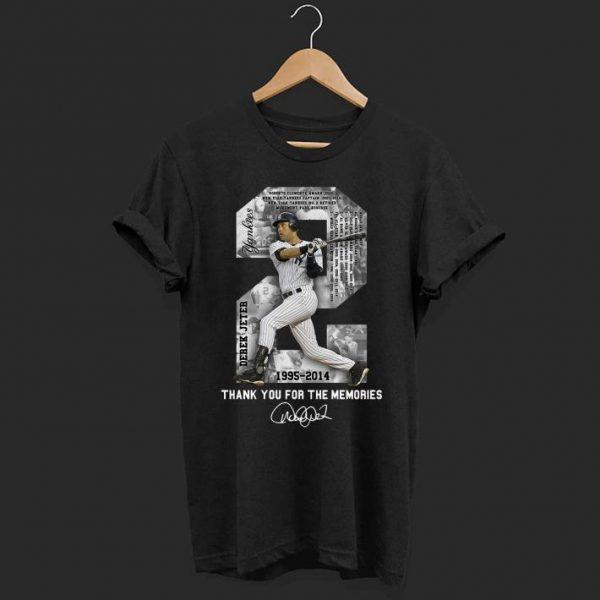 Derek Jeter Thank you for the memories shirt