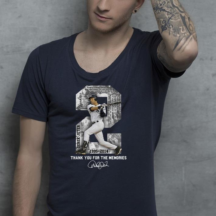 Derek Jeter Thank you for the memories shirt 4 - Derek Jeter Thank you for the memories shirt