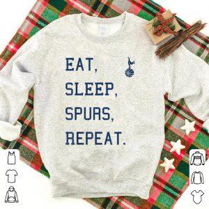 Eat sleep spurs repeat shirt