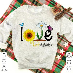 Grandma Love Gigi life Heart Floral Mothers Day shirt