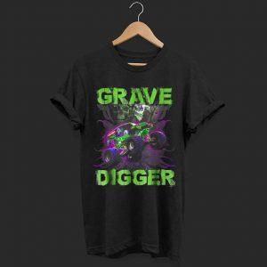 Grave Green Digger Monster Truck shirt