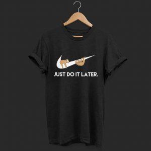 Just do it Nike Folivora shirt