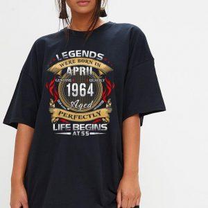 Legend Born April 1964 shirt 2