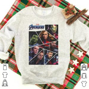Marvel Avengers Endgame Broken Character Panels shirt