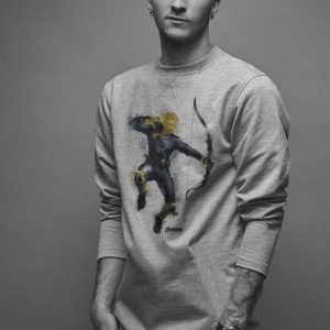 Marvel Avengers Endgame Hawkeye Spray Paint shirt