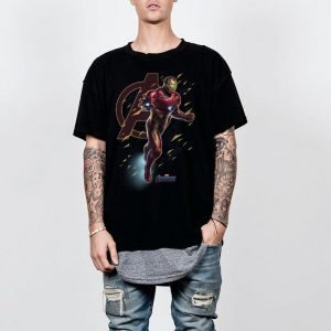 Marvel Avengers Endgame Iron Man Action Pose shirt