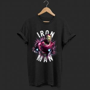 Marvel Avengers Endgame Iron Man Space shirt