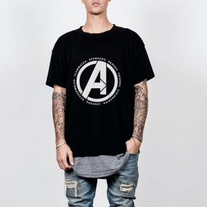 Marvel Avengers Endgame Logo Heroes and Legends shirt