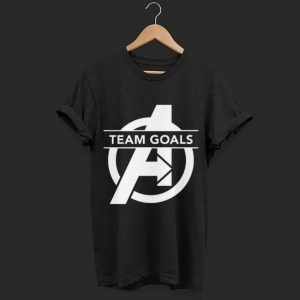 Marvel Avengers Endgame Team Goals Logo shirt