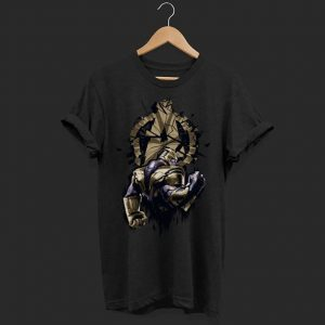 Marvel Avengers Endgame Thanos Broken Logo shirt
