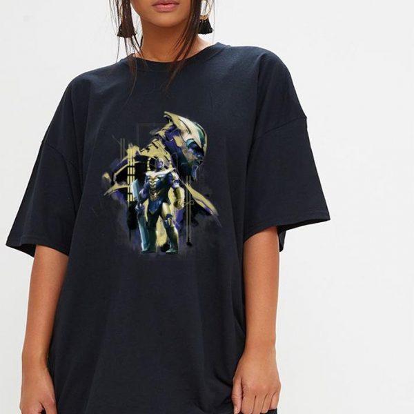 Marvel Avengers Endgame Thanos in Gold Armor shirt
