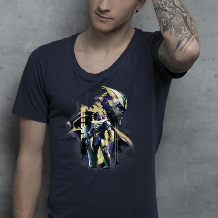 Marvel Avengers Endgame Thanos in Gold Armor shirt 4 - Marvel Avengers Endgame Thanos in Gold Armor shirt