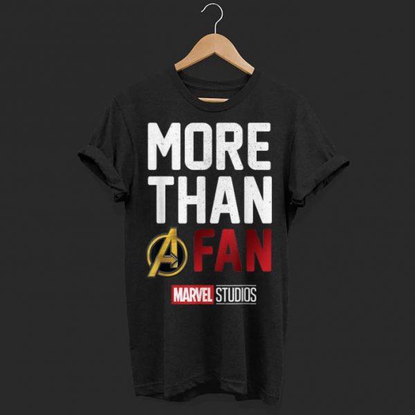Marvel Avengers More Than A Fan Movie shirt