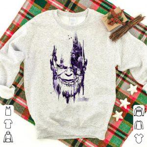 Marvel Infinity War Paint Splat Thanos Head shirt