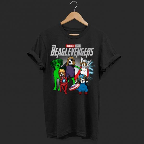 Marvel avenger beagle shirt