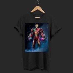 Marvel endgame Iron man infinity stone shirt