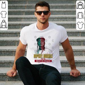 Rip Nipsey Hussle 1985-2019 vintage colour shirt