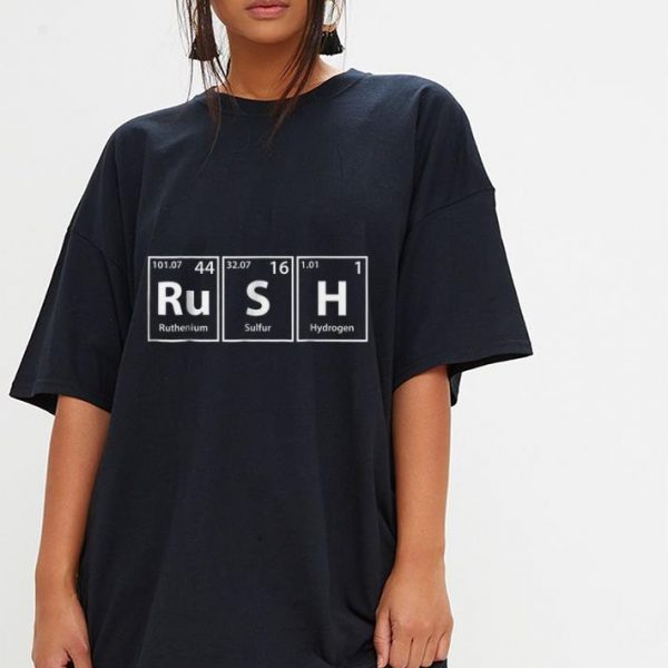 Rush Periodic Table Elements  shirt