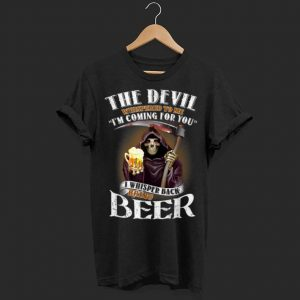 The devil whispered to me i'm coming for you i whisper back shirt