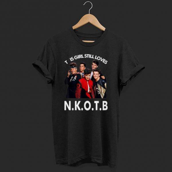 This girl still loves NKOTB shirt