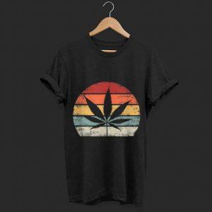 Weed Vintage Marijuana Cannabis Leaf shirt