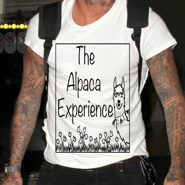 The Alpaca Experience Farm shirt