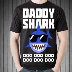Father's Day Sunglass Daddy Shark Doo Doo Doo shirt