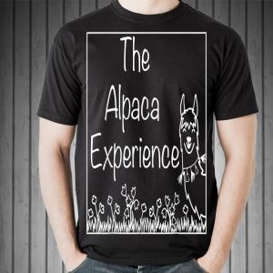 The Alpaca Experience Farm White shirt