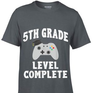 2019 5th Grade Graduation Gamer shirt