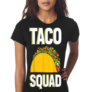 Mexican taco squad shirt 2