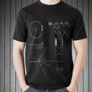 The Voyager Golden Record shirt