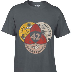 42 The Answer to Life The Universe & Everything Galaxy shirt