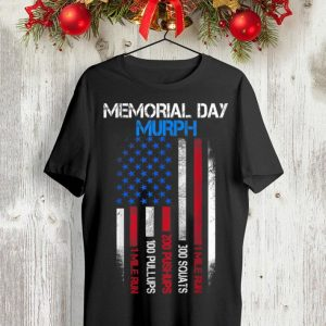 Memorial Day Murph American Flag 1 MIle Run 300 Souats shirt