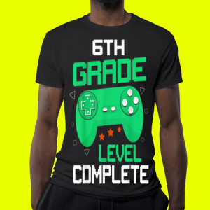 6th Grade Level Complete Handle Game shirt 3