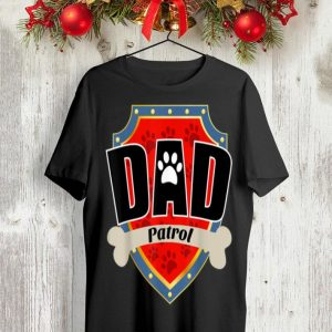 Paw Dog Dad Patrol shirt