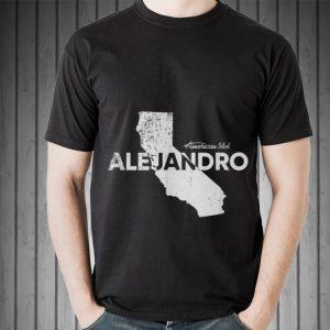 Alejandro California American Idol shirt