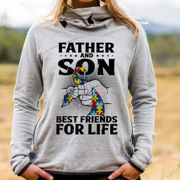Autism Awareness Father Andon Best Friend For Life shirt