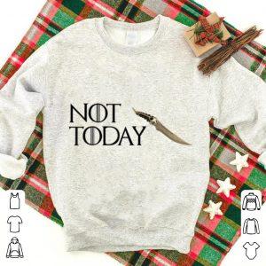 Catspaw Blade Not today GOT Arya shirt