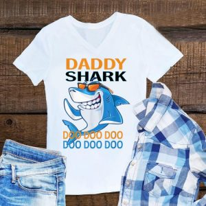 Daddy Shark with Sunglass Doo Doo Father's Day shirt