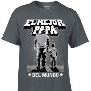 El Mejor Papa Del Mundo Camisa Del Regalo Del Dia Del Padre shirt