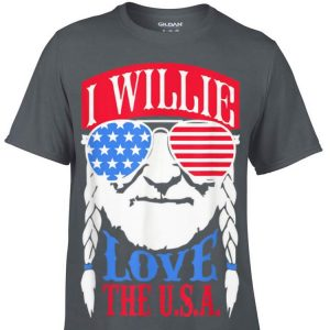 I Willie Love The USA shirt
